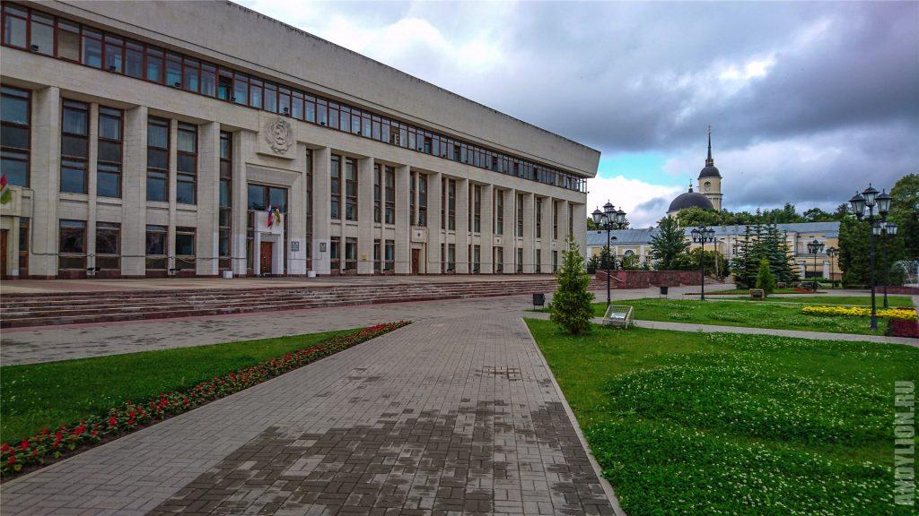 Здание областной администрации в Калуге