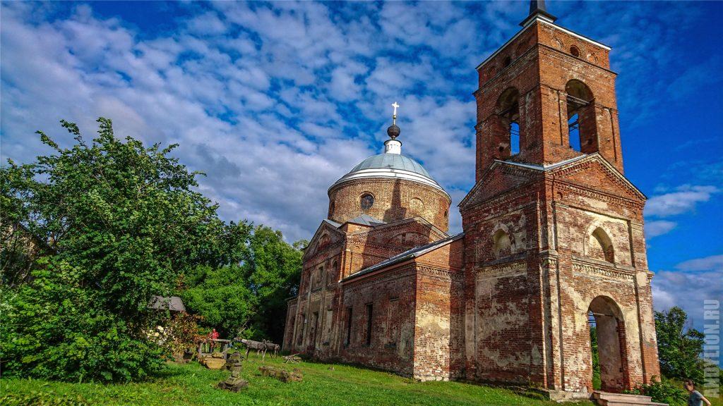 Троицкая церковь 1802 года. Никола-Ленивец.