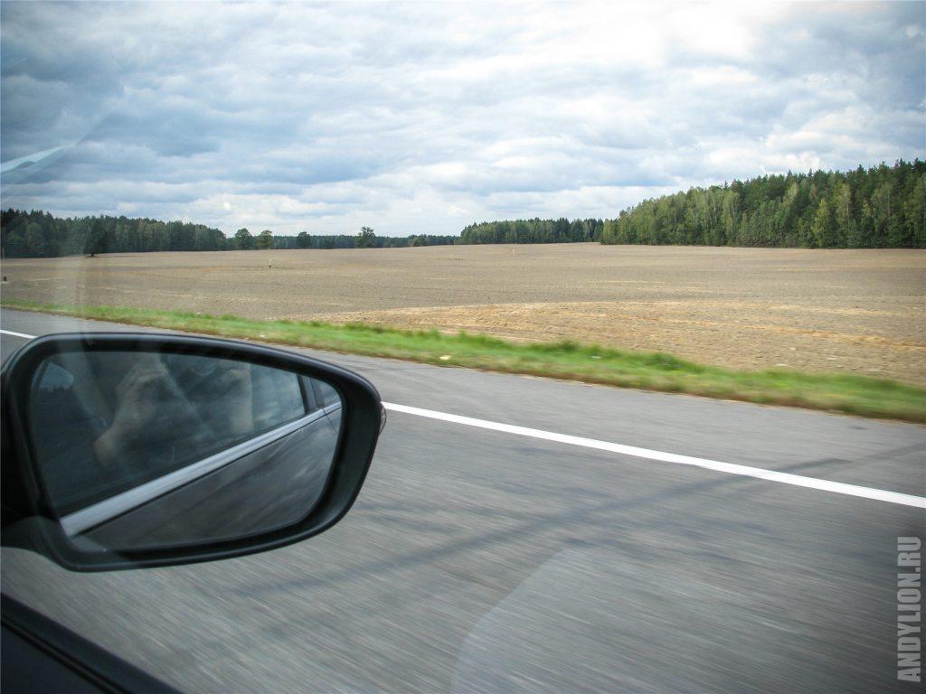 Бескрайние белорусские поля