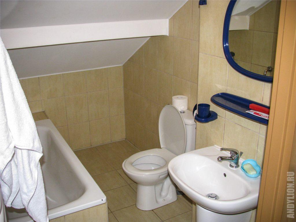 Hotel Dukat. Ванная комната.