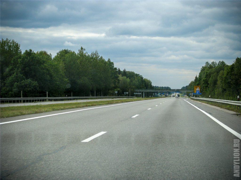 Трасса М1 в Республике Беларусь