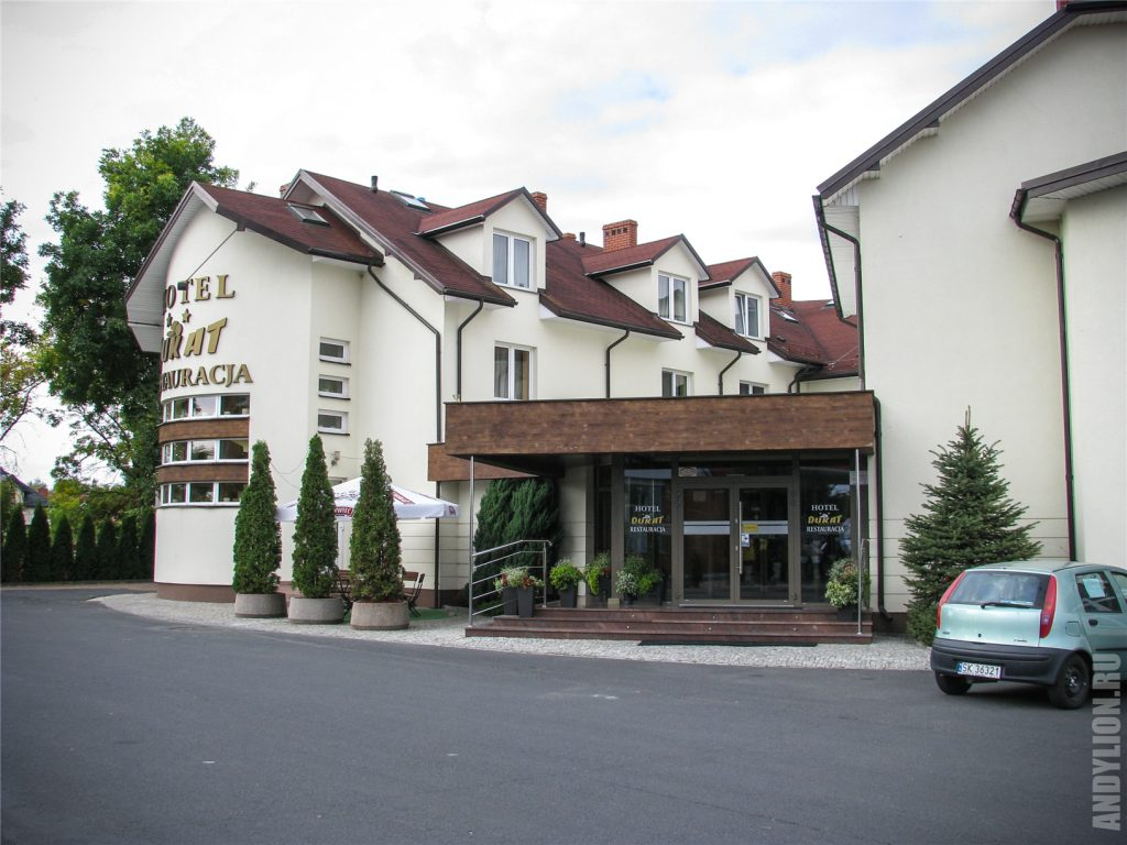 Отель Дукат. Бяла-Подляска. Hotel Dukat.