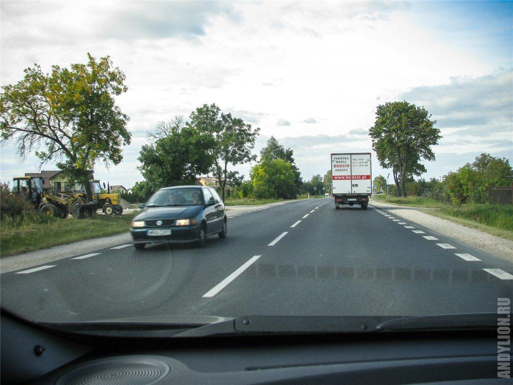 Провинциальные польские дороги