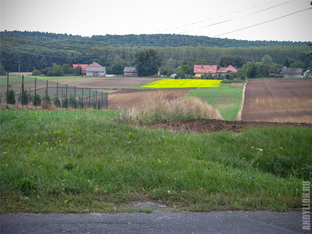 Пейзажи провинциальной и сельской Польши.