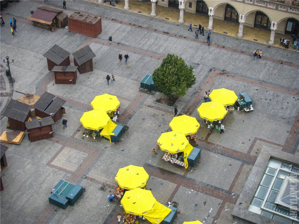 Площадь Главный рынок. Краков.