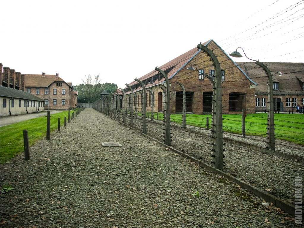 Концлагерь Аушвиц I. Территория.