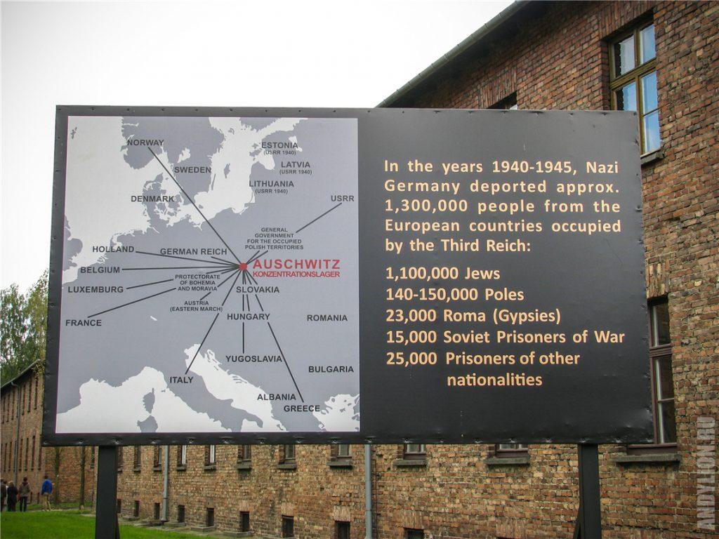 Статистика погибших в Освенциме