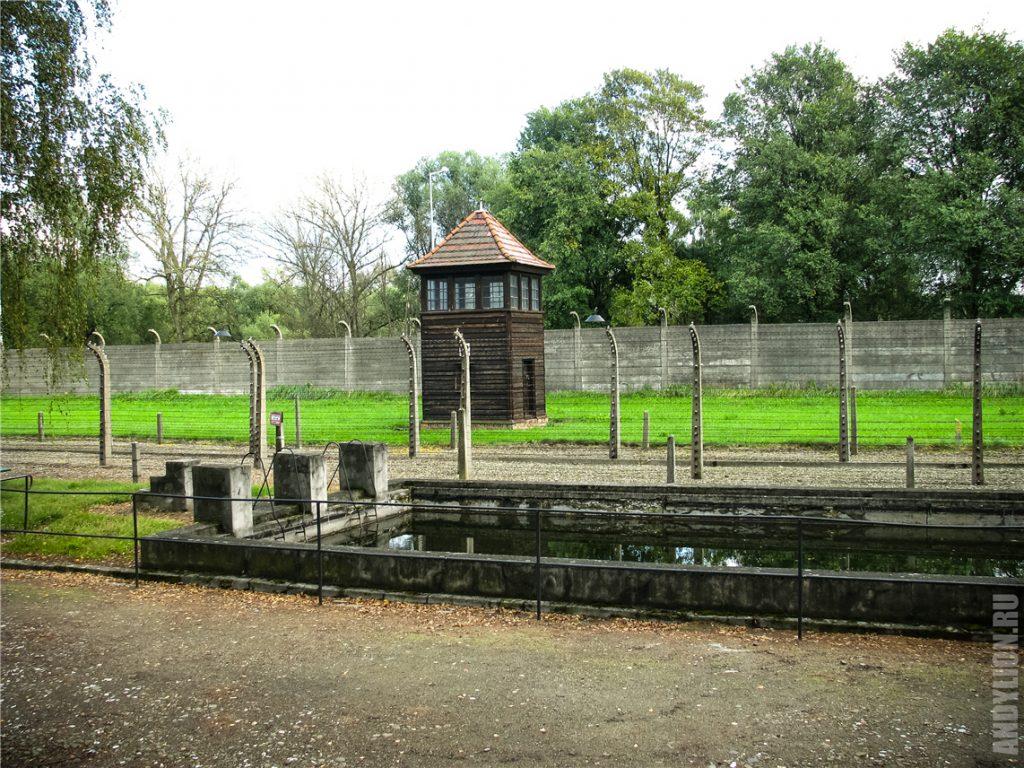 Водохранилище в Аушвице