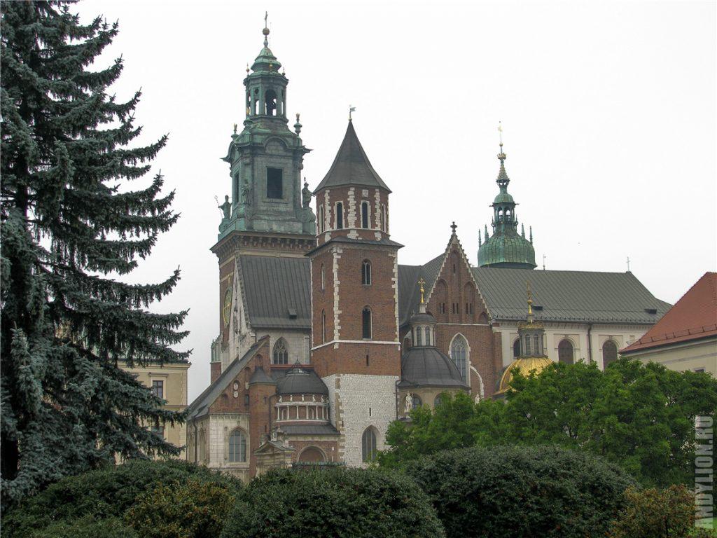 Кафедральный собор святых Станислава и Вацлава. Краков.