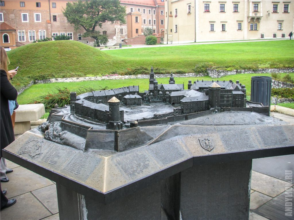 Макет Вавельского замка