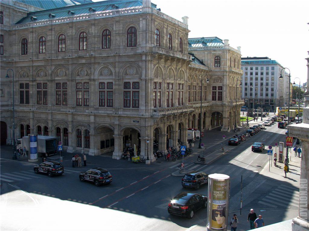 Альбертинаплац и Венская опера