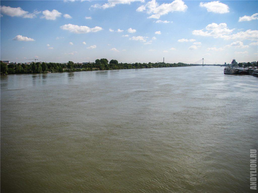 Дунай в Вене
