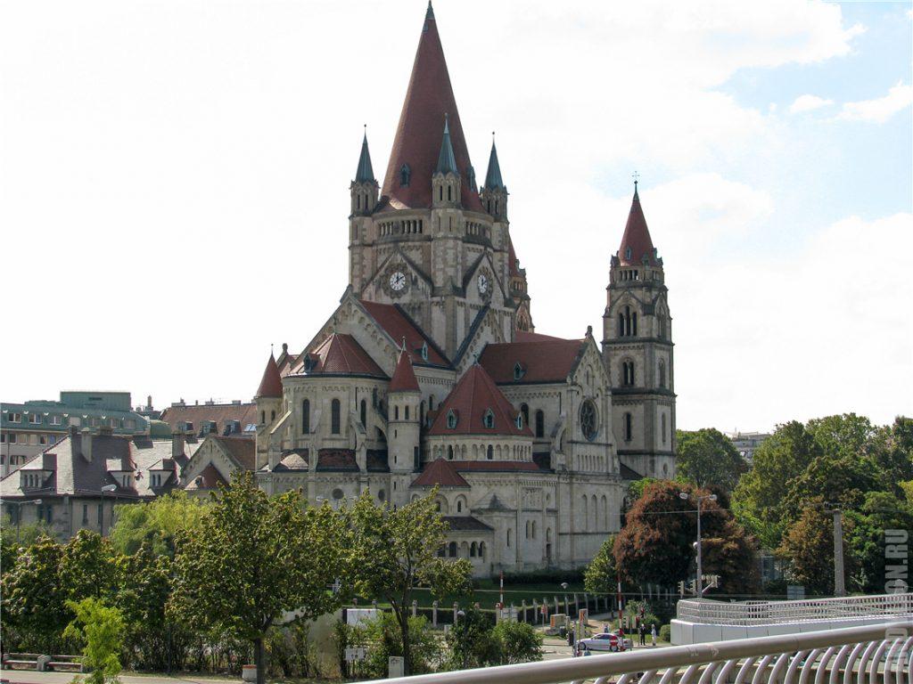 Церковь святого Франциска Ассизского. Вена.