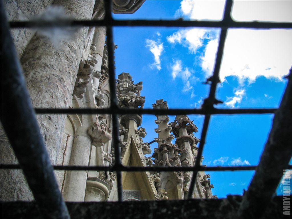 Подъем на Южную Башню собора св.Стефана. Вена.
