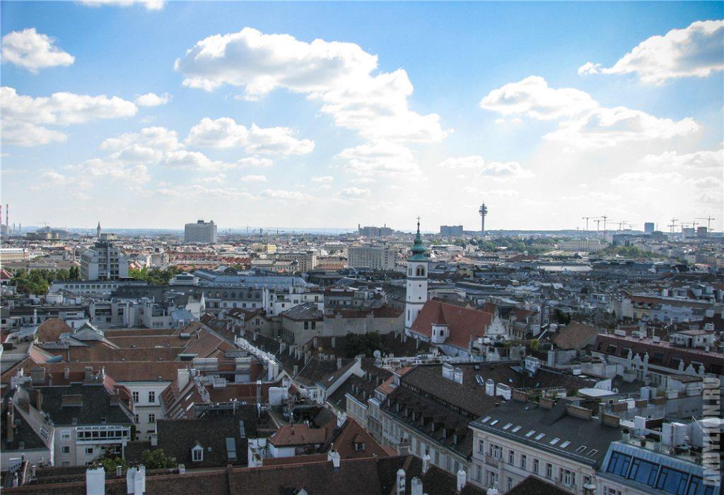 Вена с Южной башни собора св.Стефана