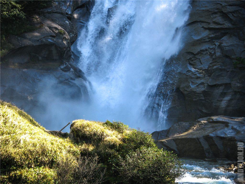 Криммльские водопады. Где-то на середине пути.