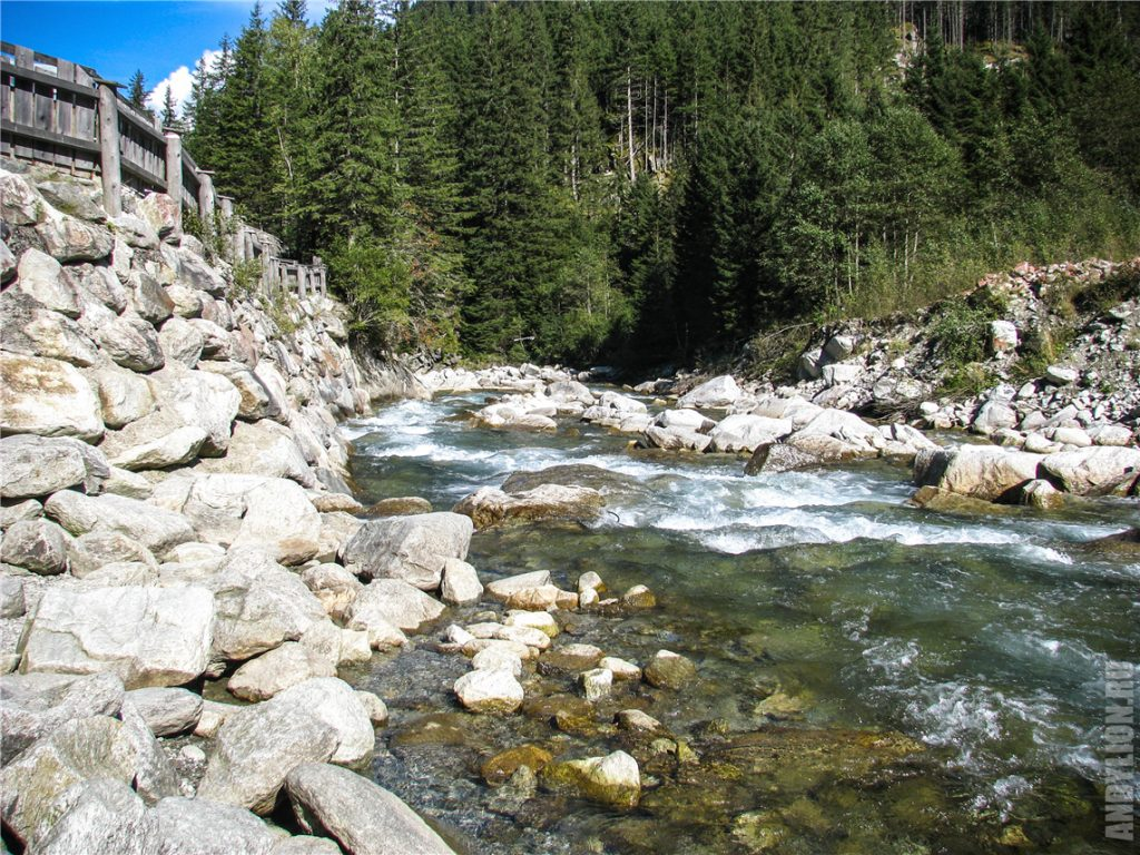 Река Криммлер Ахе
