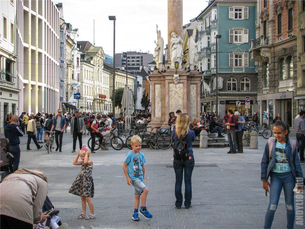 Улица Марии-Терезии в Инсбруке