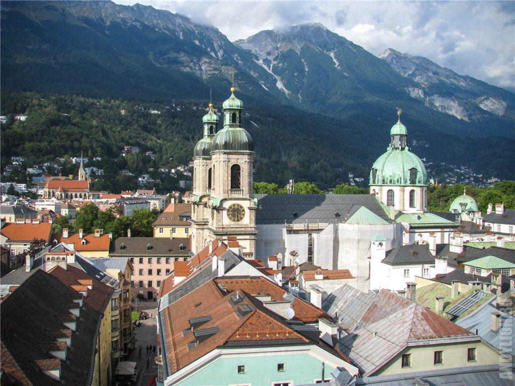 Собор святого Иакова. Инсбрук.