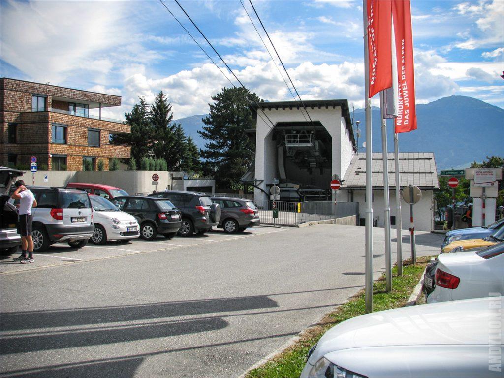 Станция Hungerburg канатной дороги Nordkette