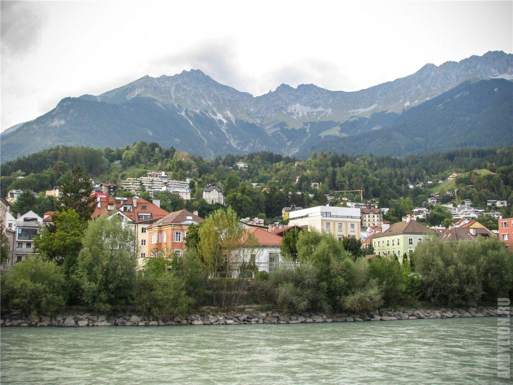 Река Инн и Альпы