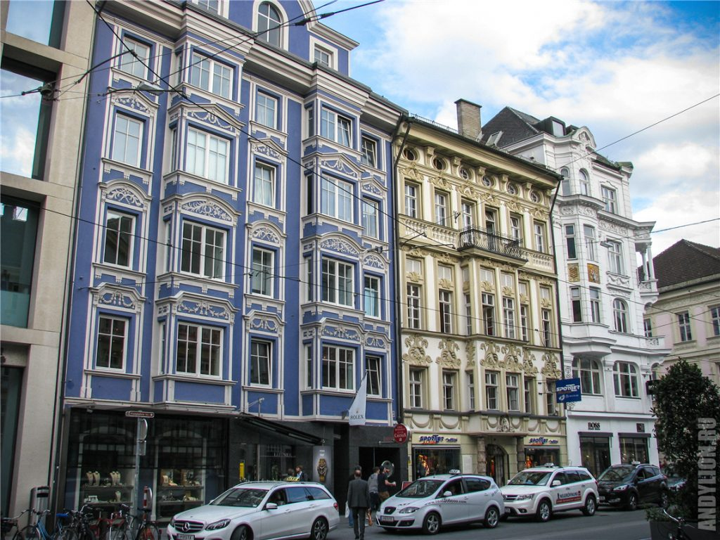 Архитектура Инсбрука