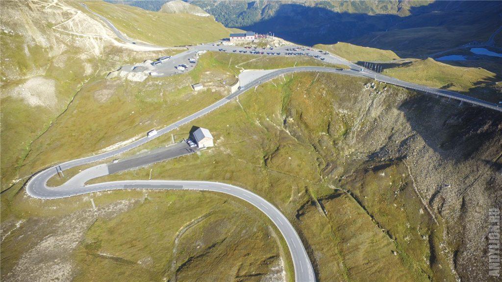 Высокогорная дорога Grossglockner. Северный участок.