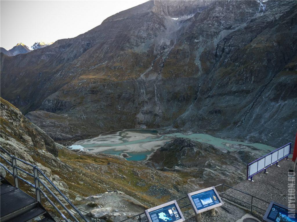 Остатки ледника Pasterze