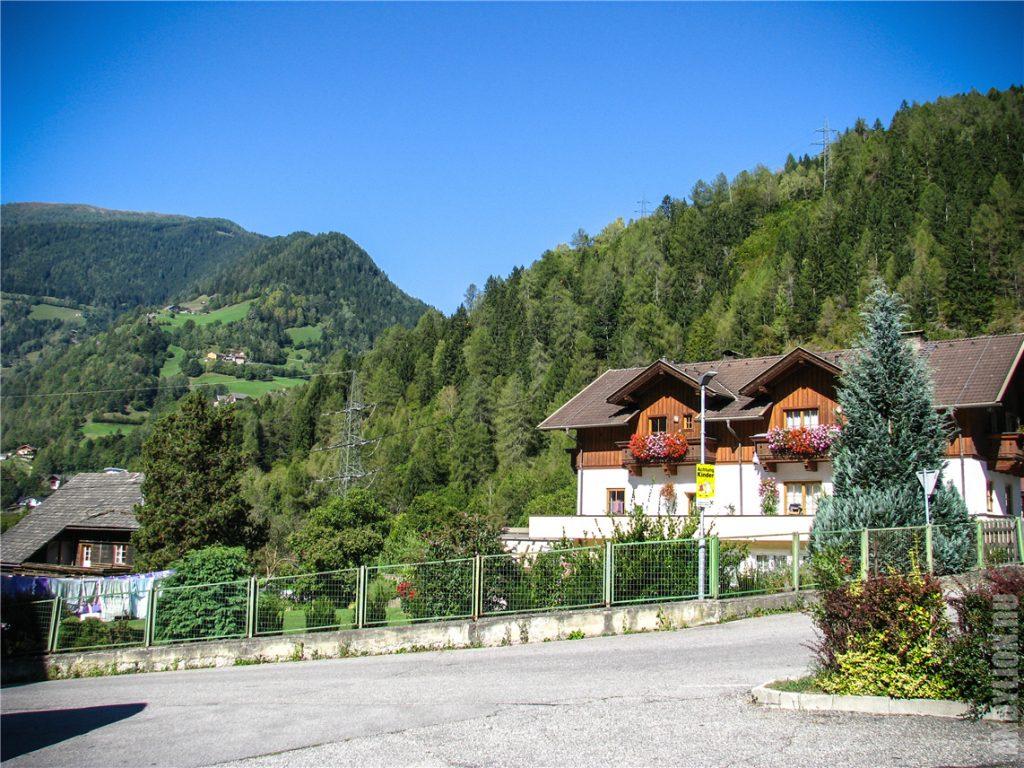 Деревенька Флаттах. Австрия.