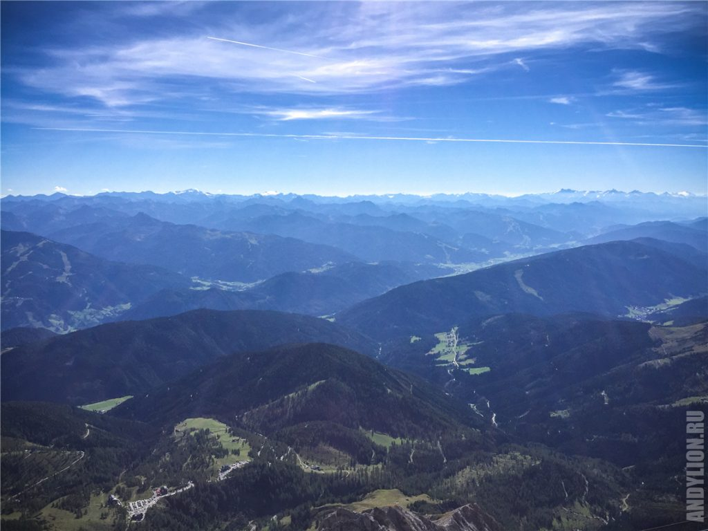 Панорама австрийских Альп