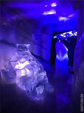 Ледяные фигуры в леднике Дахштайн