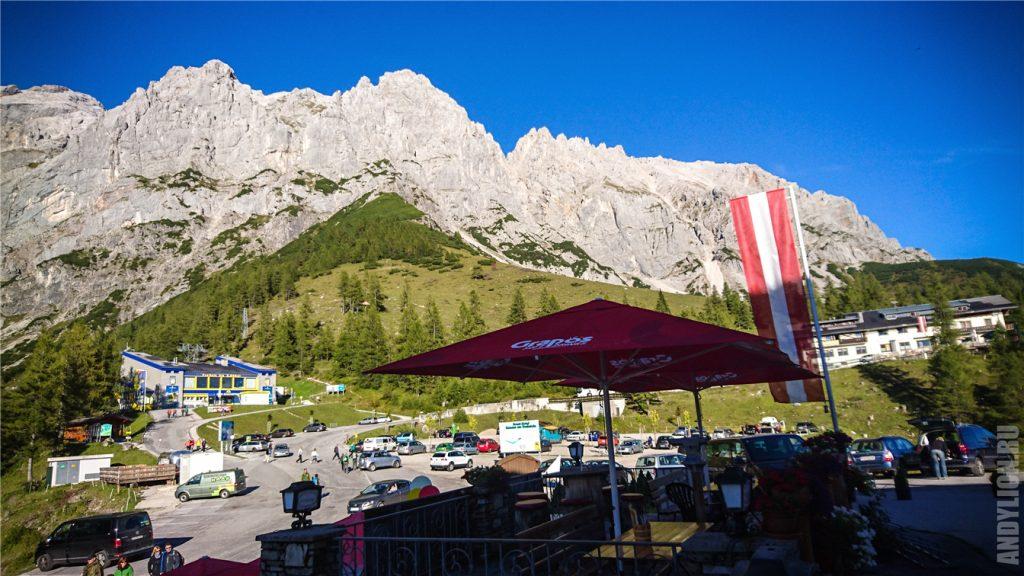 Dachstein Gletscherbahn и горы Дахштайн