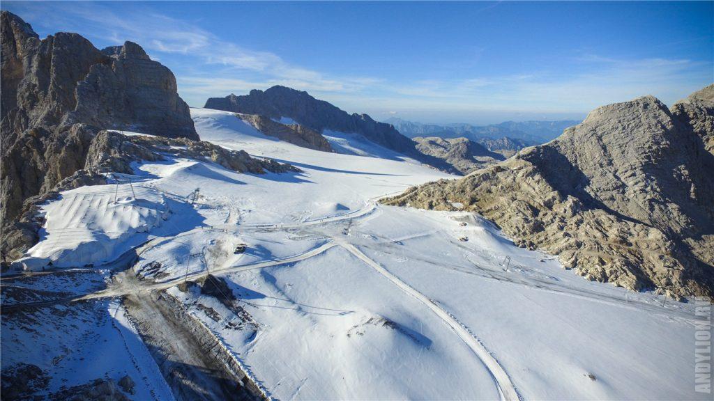 Дахштайн. Ледник Шладминг.