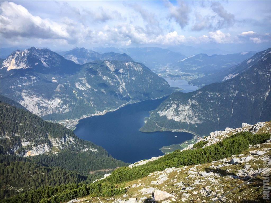 Гальштатское озеро с Пяти Пальцев