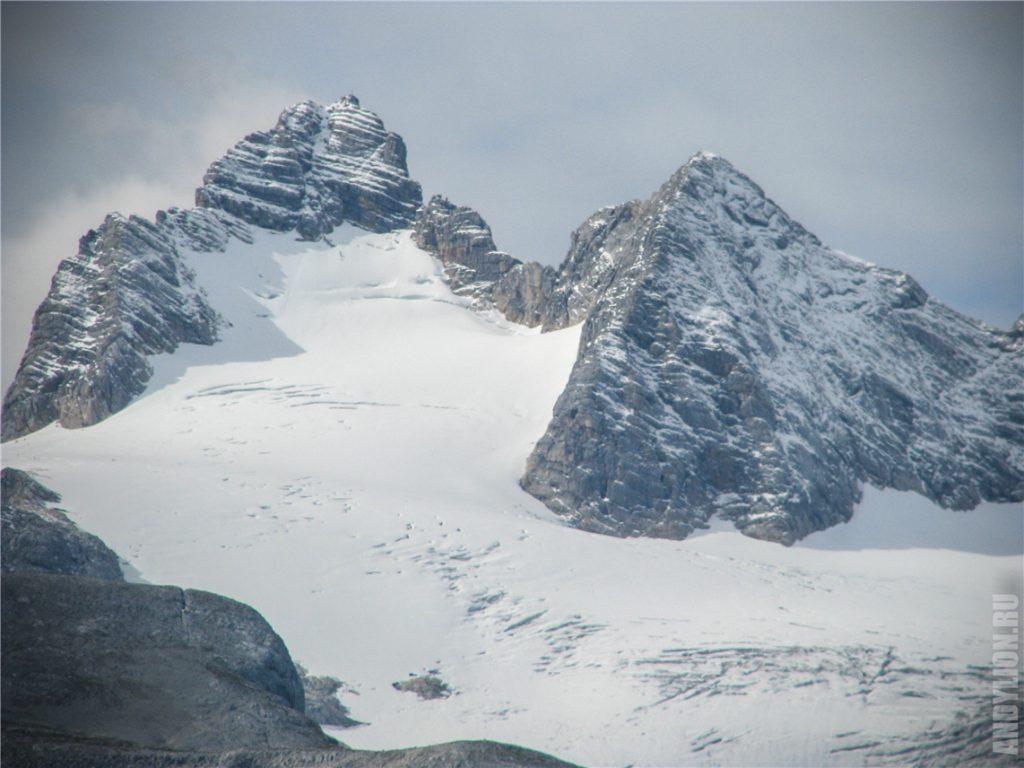Гора Дахштайн 2996 метров