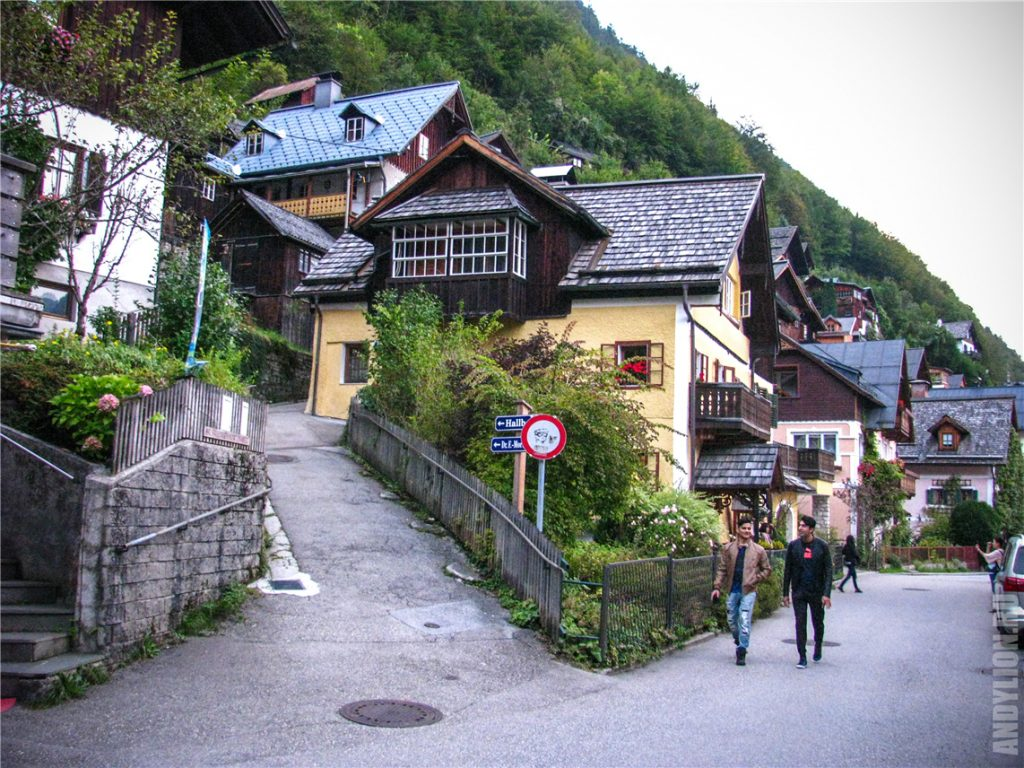 Улочки и домики в Гальштате
