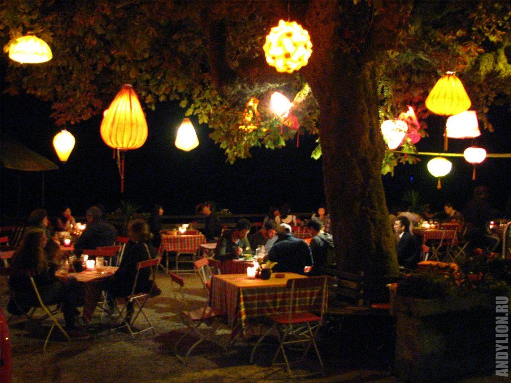 Китайские фонарики в Гальштате