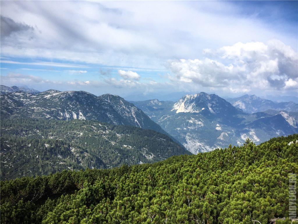 Панорама горного массива Дахштайн