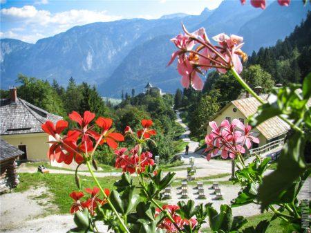 Виды на долину Salzberg