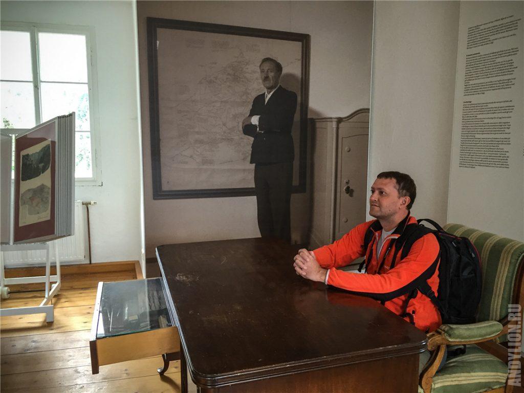 Кабинет Иоганна Георга Рамзауэра в башне Рудольфстурм