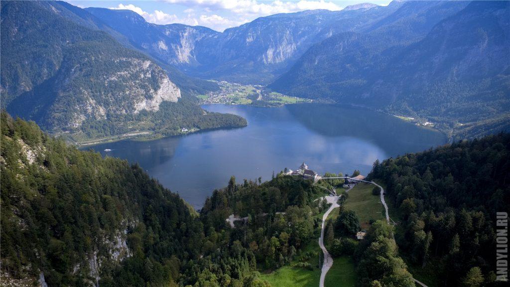 Гальштатское озеро и Рудольфстурм