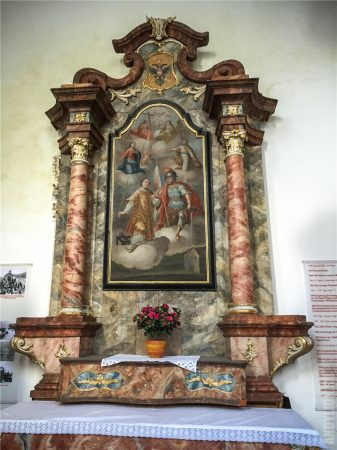 Часовня святого Микаэля в Гальштате