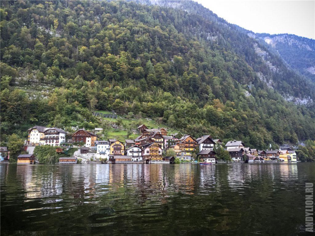 Вид на Гальштат с озера
