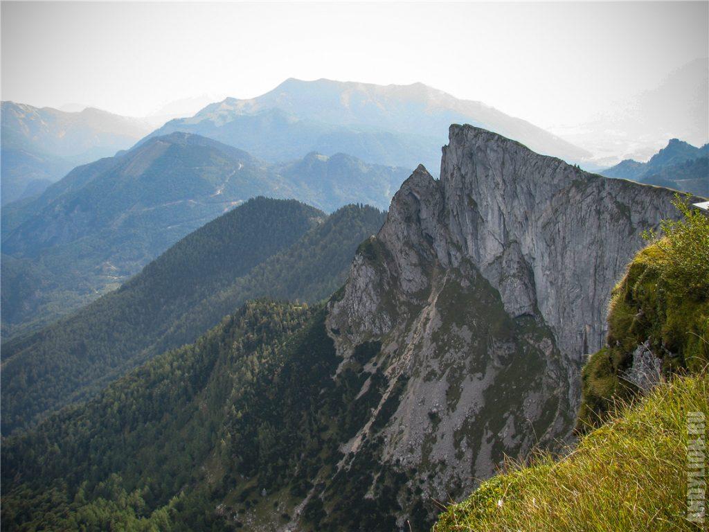 Скалистые утесы горы Шафберг