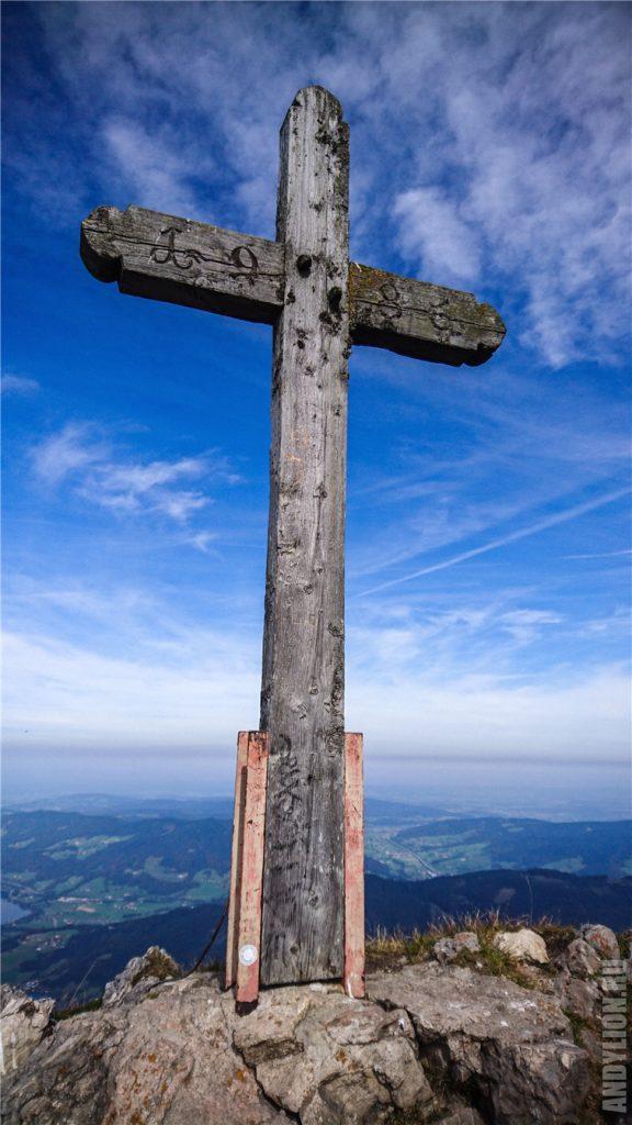 Крест на горе Шафберг