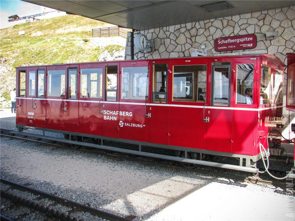 Современный вагончик Schafbergbahn