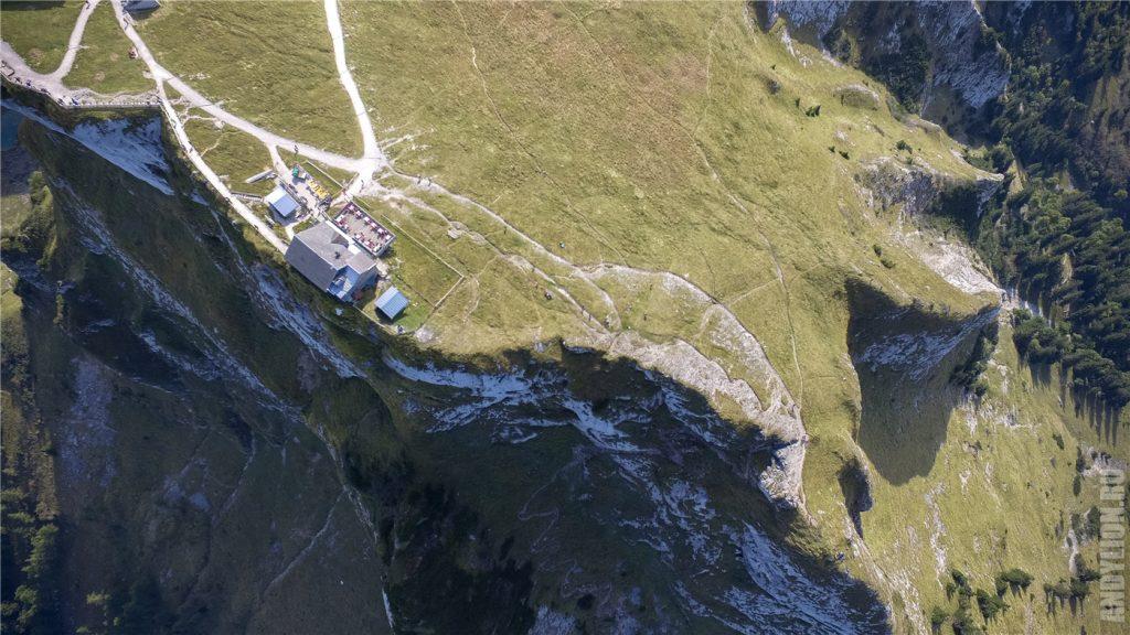 Гора Шафберг с квадрокоптера