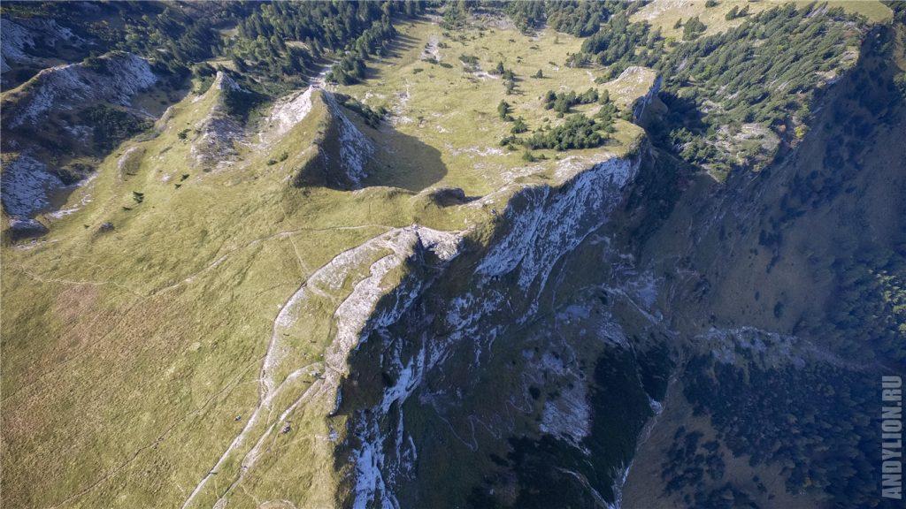 Гора Шафберг с дрона