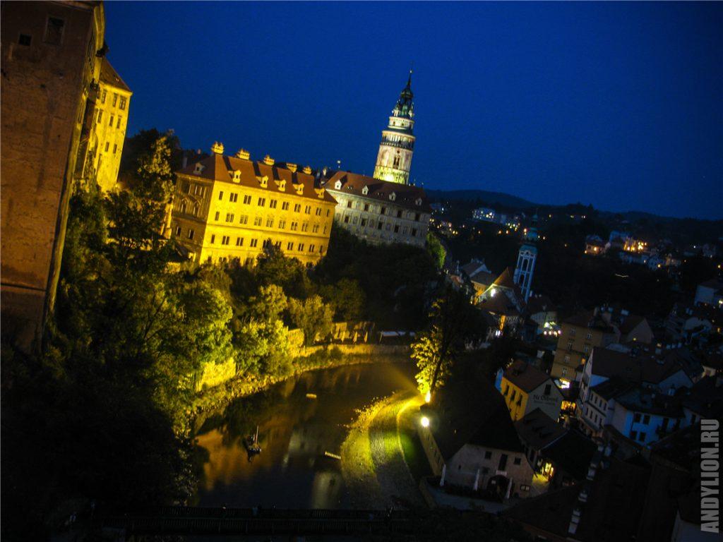 Башня Крумловского замка
