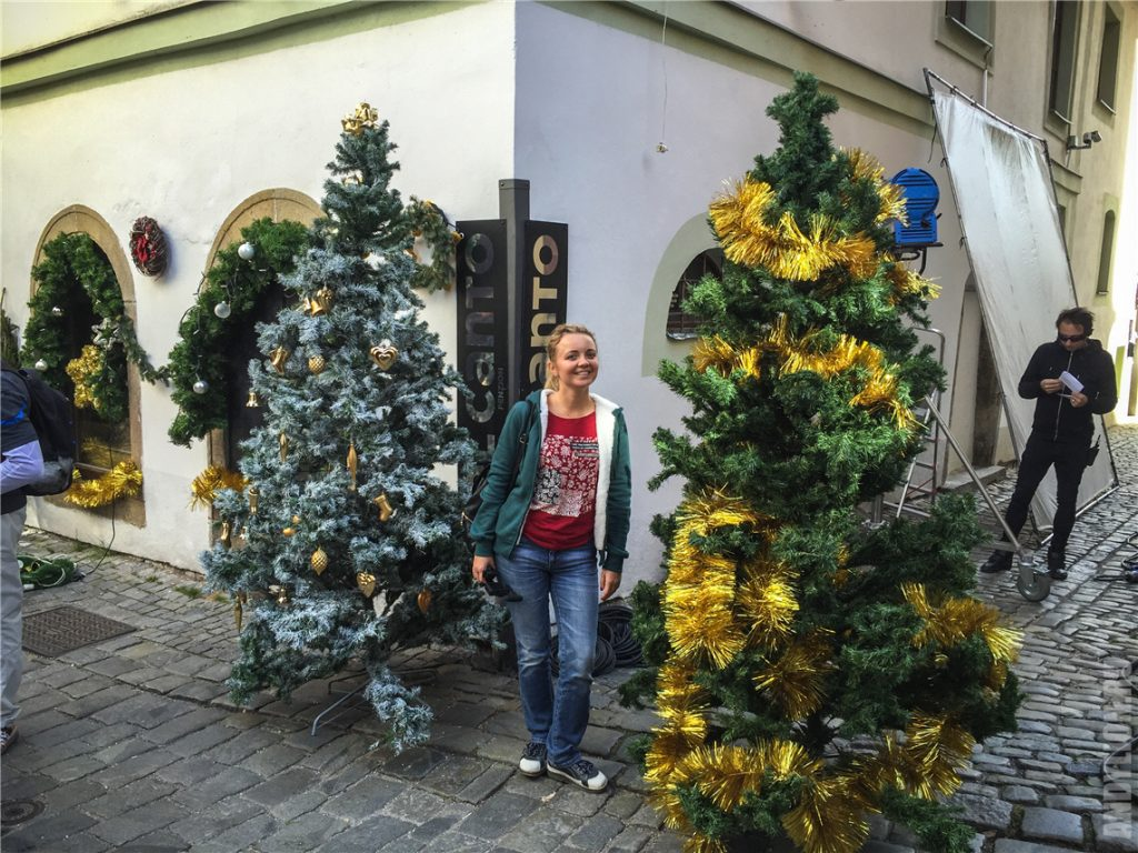 Аня и киношное Рождество